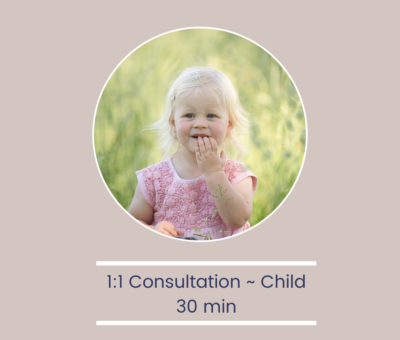 30-Minute Follow Up Consultation – Child