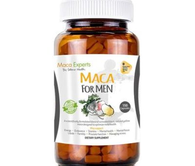 Seleno Health Maca For Men Capsules